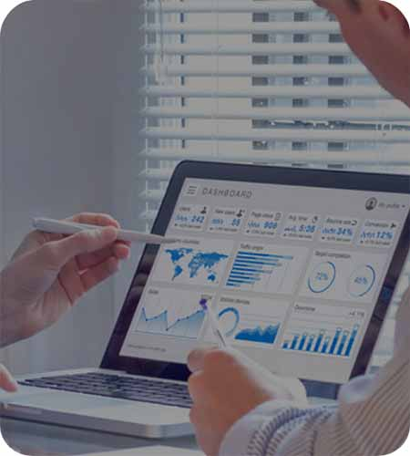 Fieldforce provides powerful AI-driven analytics enabling deeply-insightful custom dashboards and reports.